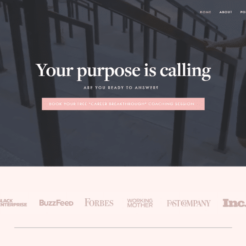 Squarespace Website Design by creative agency, The Affinity Group International